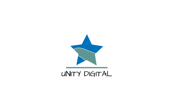 Unity logo represented by a star