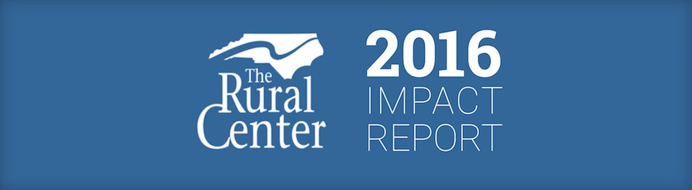 The Rural Center 2016 Impact Report