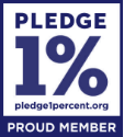 Pledge 1 Percent, Proud Member.