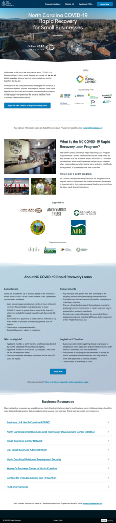NC Rapid Recovery