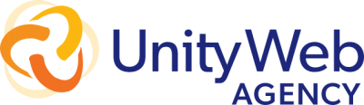 Our new logo. Unity Web Agency.