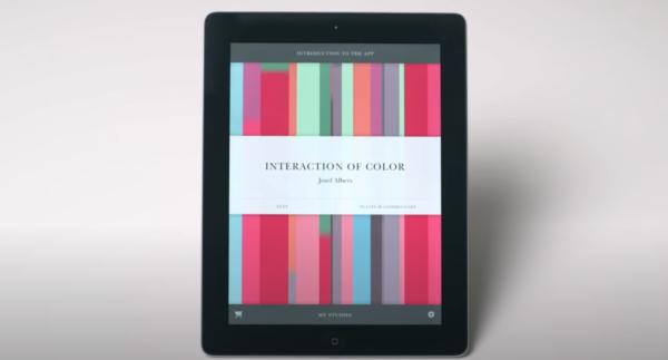 Interaction of Color iPad app