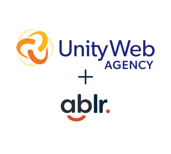 Unity Web Agency and Ablr logos