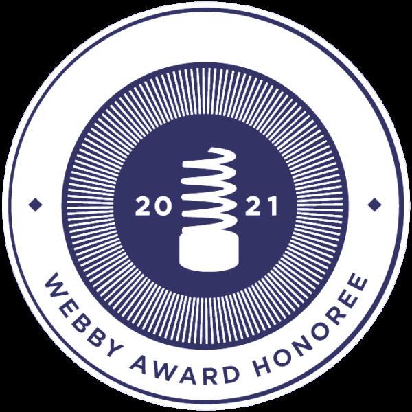 Webby Award Honoree 2021