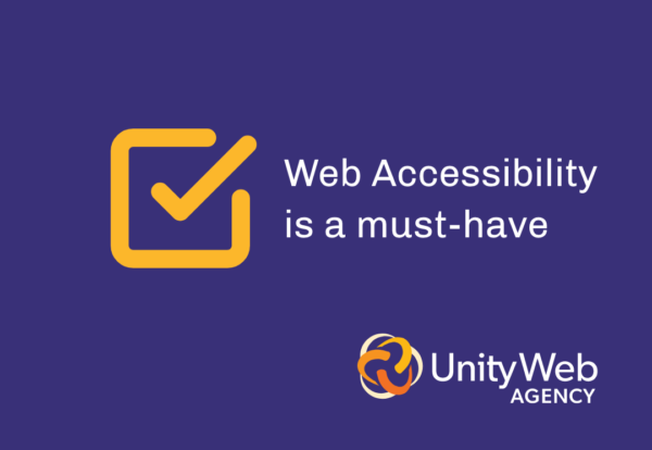 Web accessibility is a must-have