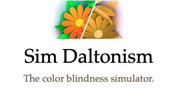 Sim Daltonism, the color blindness simulator